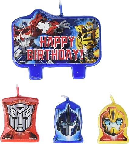 Amazon.com: Amscan – Mighty Transformers carácter Fiesta de ...