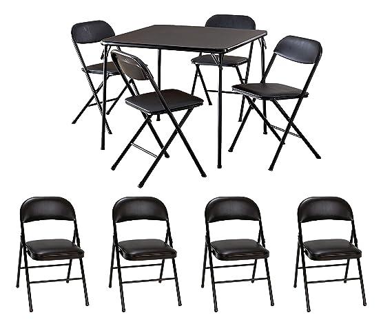Amazon.com: Cosco - Juego de mesa de 5 piezas con mesa ...
