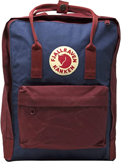 Fjallraven Kanken Classic Fabric Backpack - Royal Blue: Fjallraven