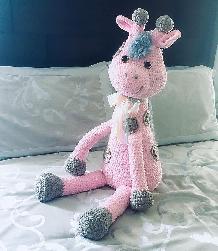 Free and Sweet Amigurumi Crochet Giraffe Pattern - Free Amigurumi ... | 800x696