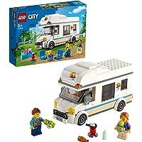LEGO City Tatilci Karavanı 60283 Çocuklar İçin Oyuncak Yapım Seti (190 Parça)