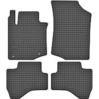Motohobby Rubberen matten rubberen vloermatten set voor Toyota Aygo I/Citroen C1 I/Peugeot 107 (2005-2014) - precies…