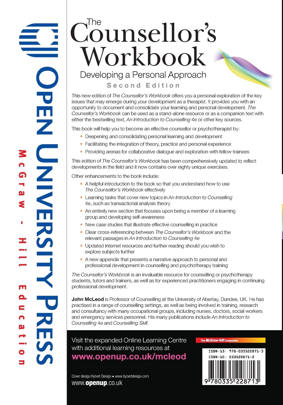 Workbooks workbook methods : The counsellor's workbook: developing a personal approach: Amazon ...