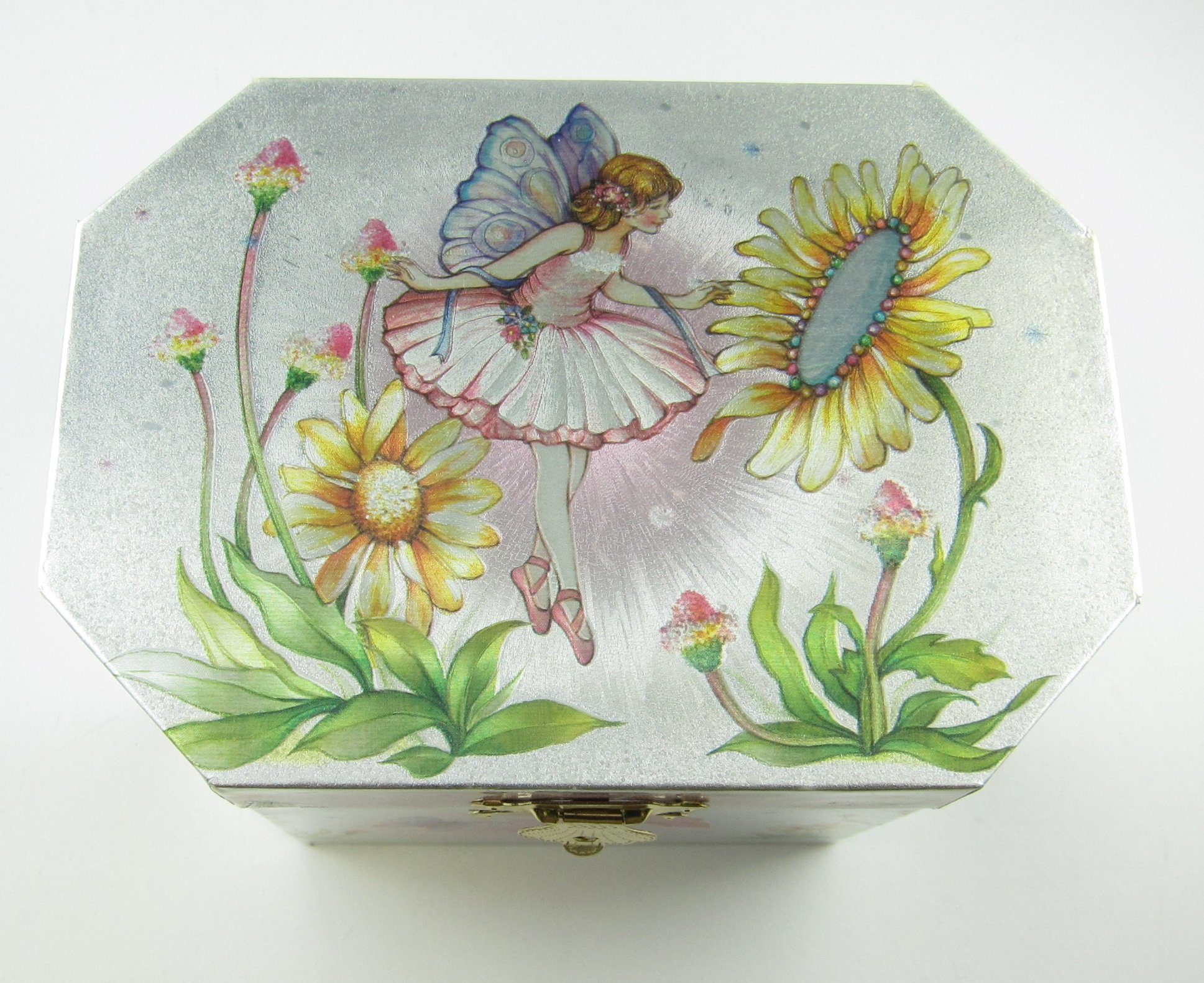 Fairy Ballerina Jewelry Music Box-Wooden material (Wood) by GTP (Image #2)