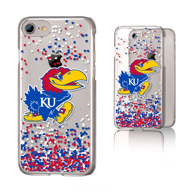 iPhone 8//7 Clear Keyscaper NCAA Kansas Jayhawks Apple iPhone Clear CaseClear Case