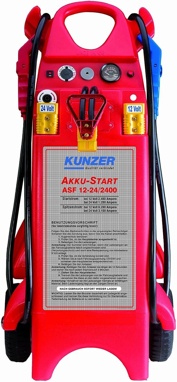 ASF 12-24//3200 Kunzer Akku-Starter 12 plus 24 V