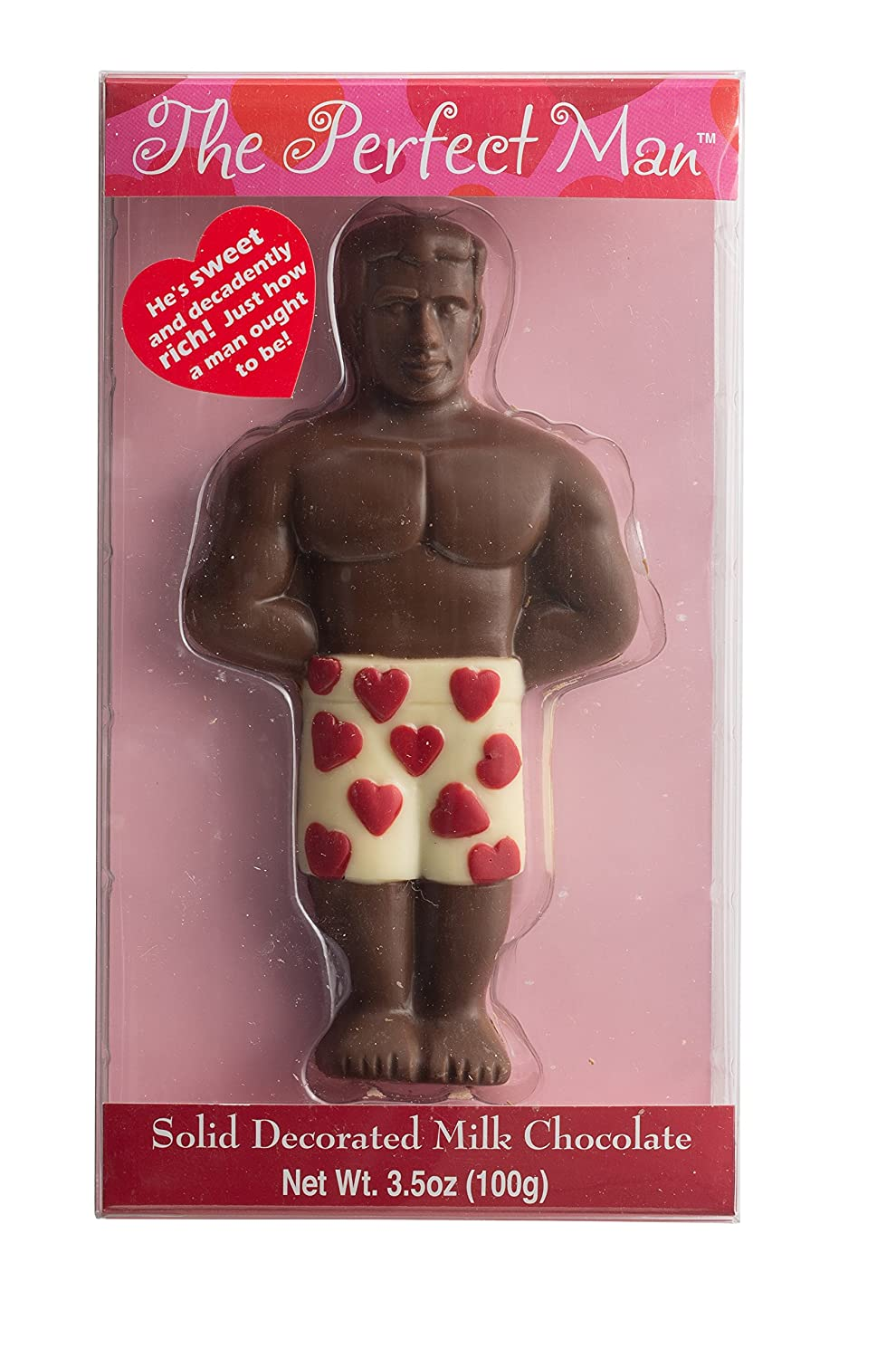 Amazon.com : The Perfect Man Lovers Gift, Fun For Your Boyfriend, Girlfriend  Or Any Friend, Includes Chocolate, Fuzzy Handcuffs, Body Scratcher, ...