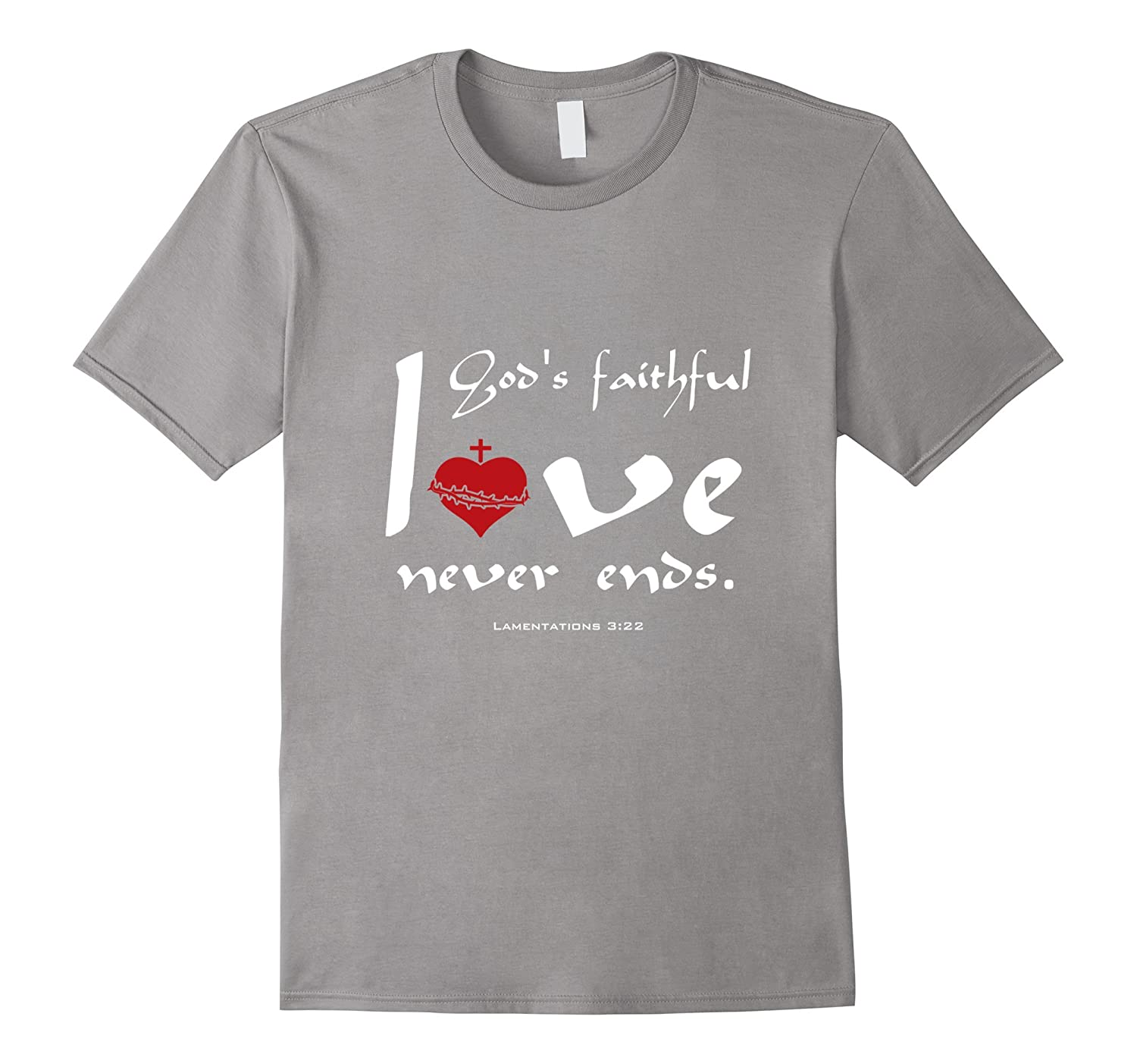 Christian T-Shirts - Lamentations 322 DOUBLE SIDED Design-Vaci