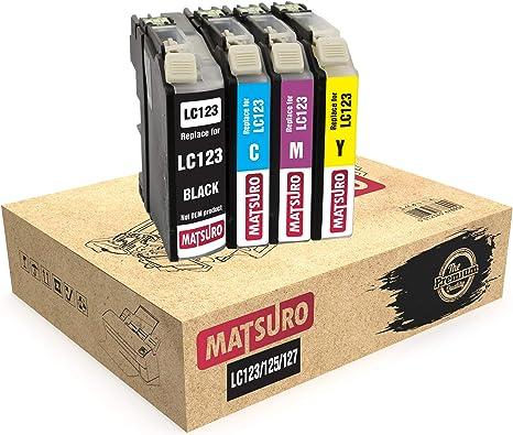 Matsuro Original | Compatible Cartuchos de Tinta Reemplazo para ...