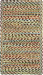 "product image for Capel Rugs Kill Devil Hill Cross Sewn Rectangle Braided Runner, 2 x 9"", Dusty Multicolor"