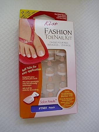 Kiss Toe Nail Kit Fussnägel Set Künstliche Nägel Für Die