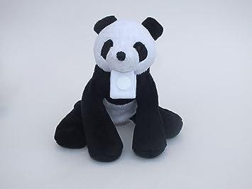 Peluche Chupete Holder por * Uggogg el Panda * - Fuerte desmontable pinza chupete / soothie - Cambiar chupetes para limpiar., Mimoso, amigo de los animales ...