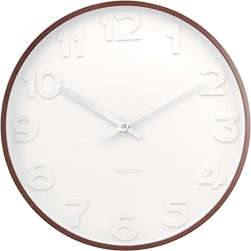 Present Time Karlsson Oversized Modern Wall Clock – Unique Contemporary Big Wall Clock