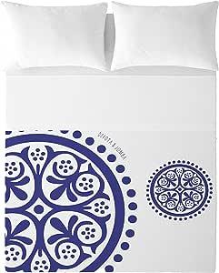 Devota & Lomba Klein Geo Juego de sábanas, Algodón, Multicolor, 180 x 200 cm: Amazon.es: Hogar