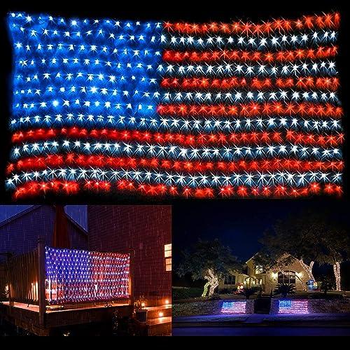 American Flag String Light