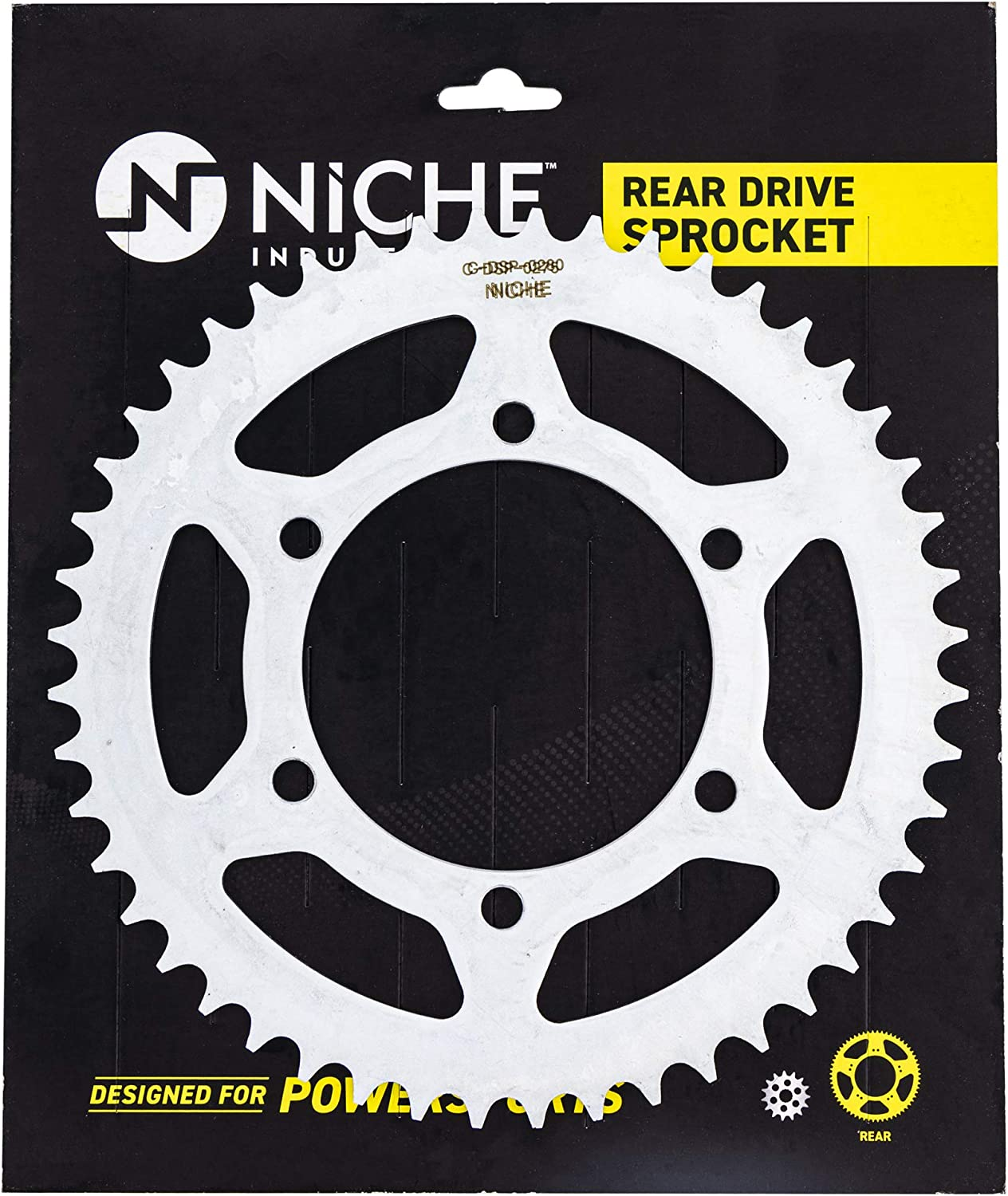 NICHE Drive Sprocket Chain Combo for Yamaha YZF-R6 YZF-R6S Front 16 Rear 48 Tooth 520NZ Standard 116 Links