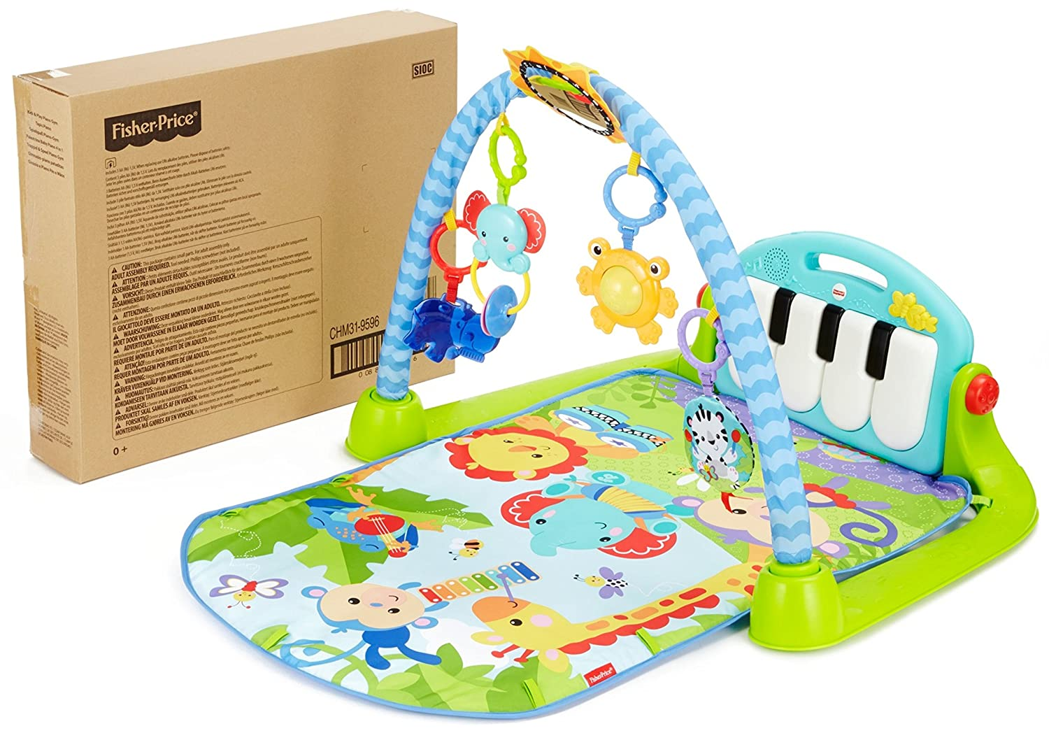 Amazon Fisher Price Piano Gym Kick And Play Baby