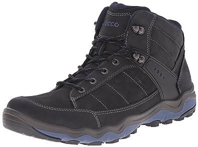Ecco 82316450608, Chaussures Multisport Outdoor Homme - Noir - Noir (50608BLACK/DENIM Blue), 43 EU