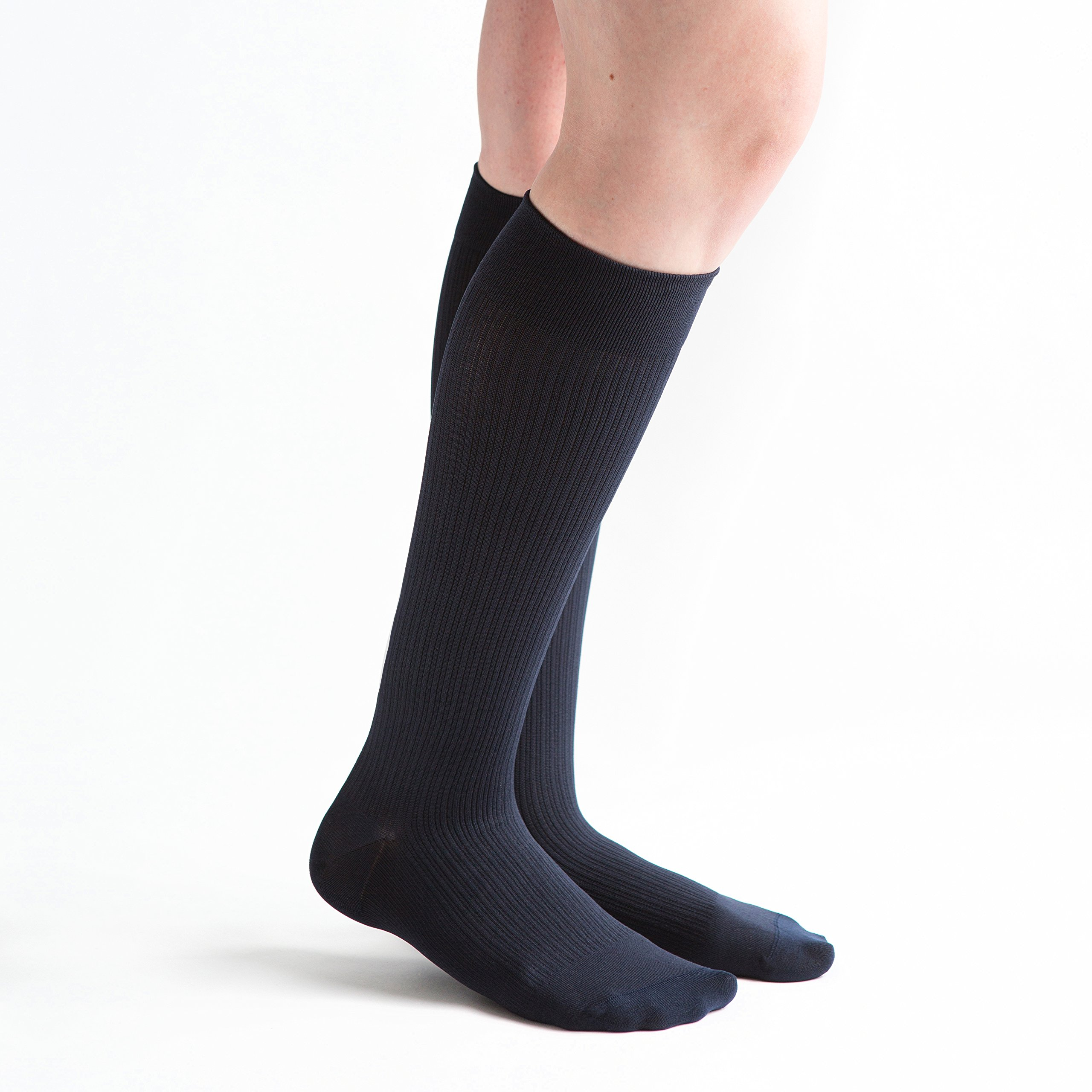 VenActive Women's Ribbed Trouser 20-30 mmHg Compression Socks by VenActive