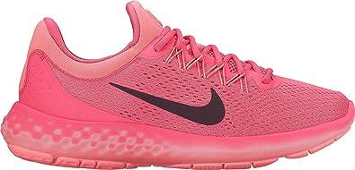 Nike Wmns Lunar Skyelux, Zapatillas de Running para Mujer, Naranja (Coral/Negro