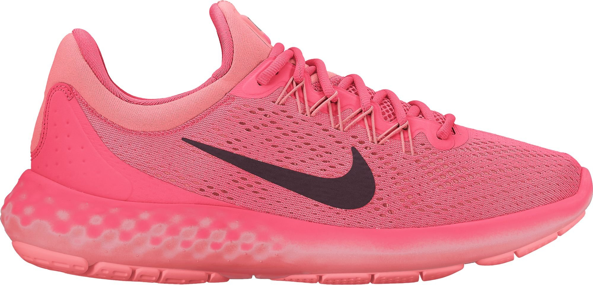 new product 55424 37a04 Galleon - NIKE Women's Lunar Skyelux Hot Punch/Night Maroon Running Shoe  (6.5)