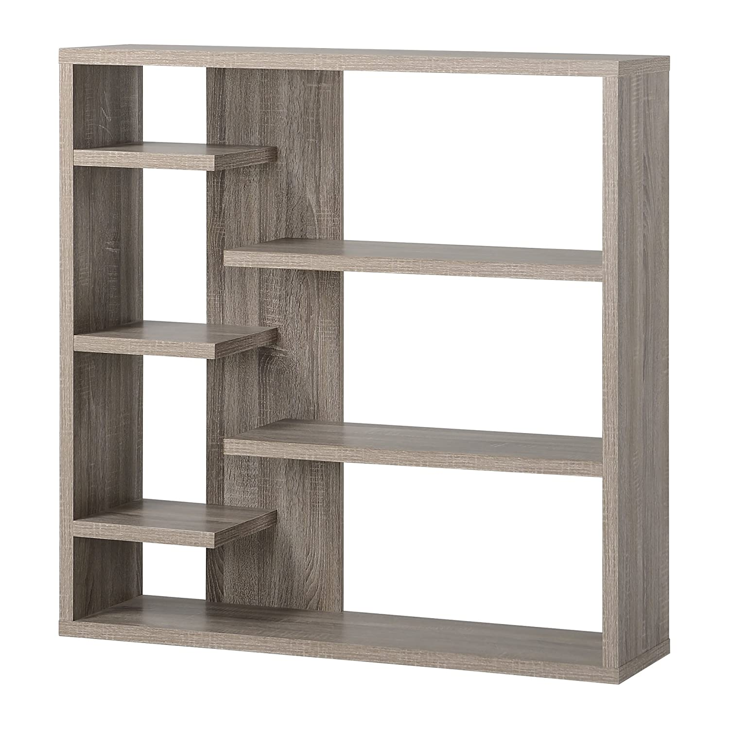 Homestar Furniture 6 Shelf Storage Bookcase In Reclaimed Wood: Amazon.ca:  Home & Kitchen