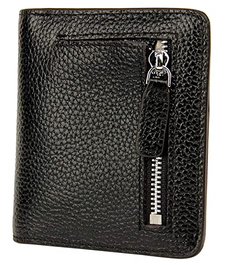 f92bc2f8039 BIG SALE-AINIMOER Women's RFID Blocking Leather Small Compact Bifold Pocket Wallet  Ladies Mini Purse