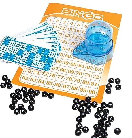 Juego de bingo portátil de viaje Perfect Life Ideas, kit de juego ...