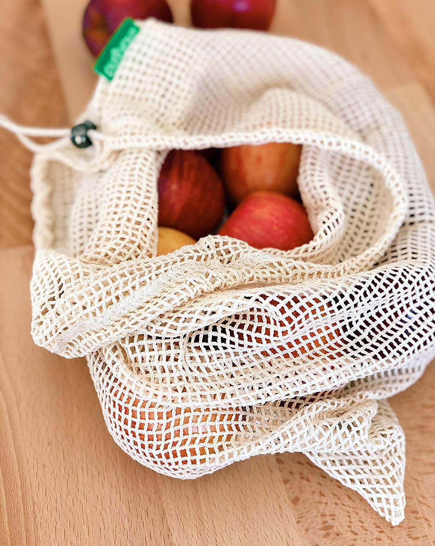 purifyou Premium Reutilizable Mesh/Produce Bags, Set de 9 ...