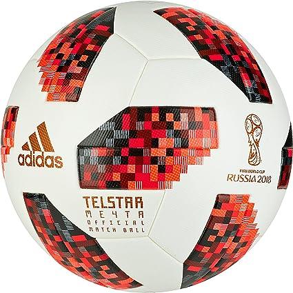 adidas Ballon de Football FIFA pour Homme Coupe du Monde de la Coupe du Monde Entier BlancNoir 5