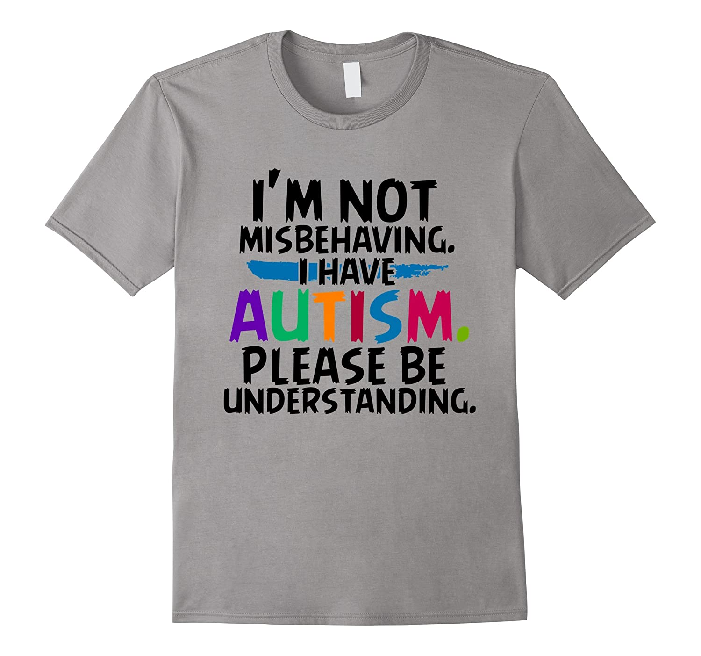 Im not misbehaving Autism T-shirt-Vaci