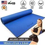 Dr Trust PVC Yoga Mat with Bag