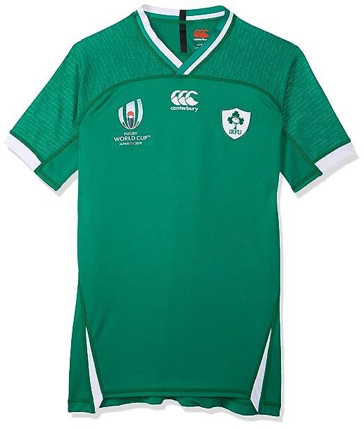 Canterbury - Camiseta de Rugby para niños de Irlanda 19/20 Copa ...
