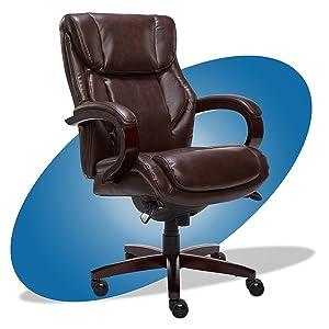 La-Z-Boy Bellamy Bonded Leather Executive Office Chair