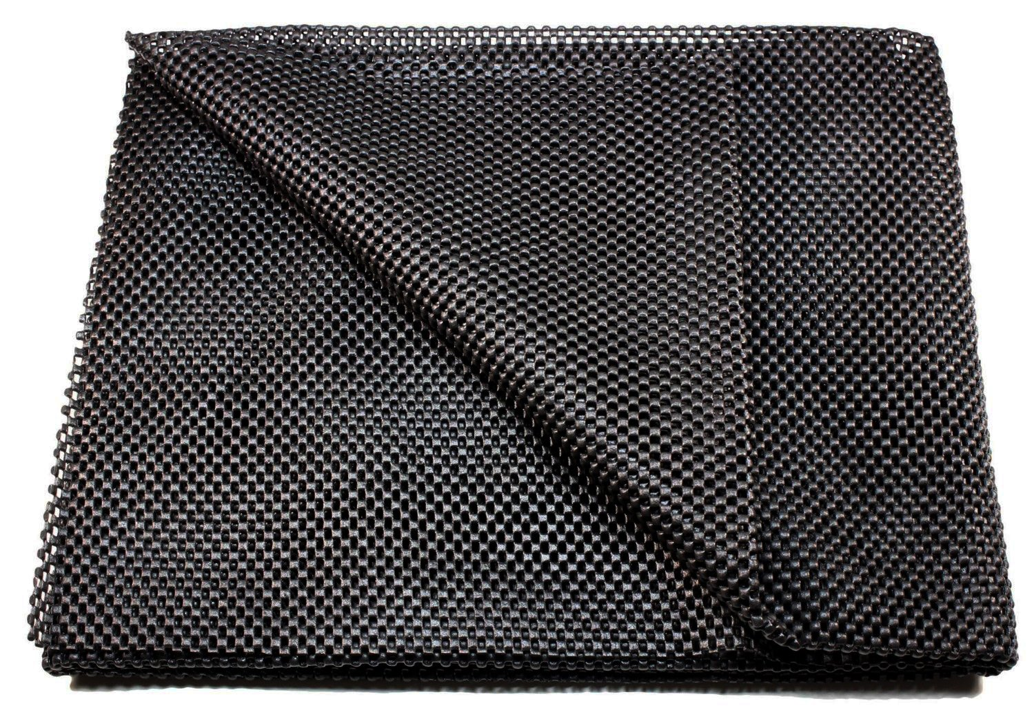 Cargo Liner 47 X 36 Inches for Trunk Non Skid Slip Trimmable All Weather Season Black Durable Protection Custom Fit By Makexpress mk