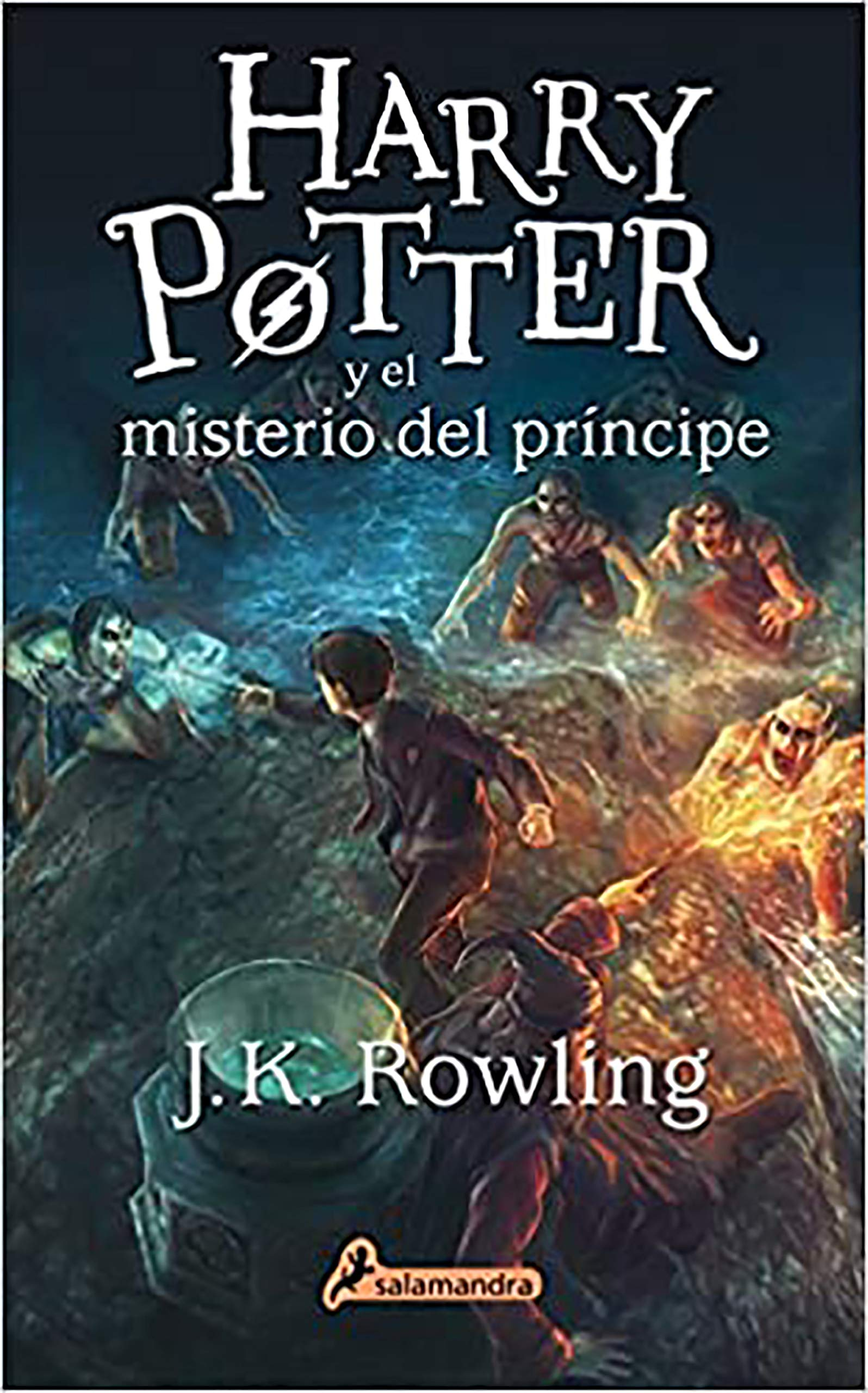 Harry Potter Y El Misterio Del Príncipe Harry Potter And The Half Blood Prince Spanish Edition 9788498386998 Rowling J K Books