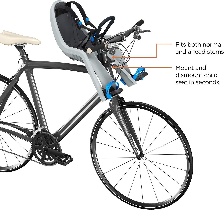 Thule RideAlong Mini, Asiento infantil delantero para bicicleta ...
