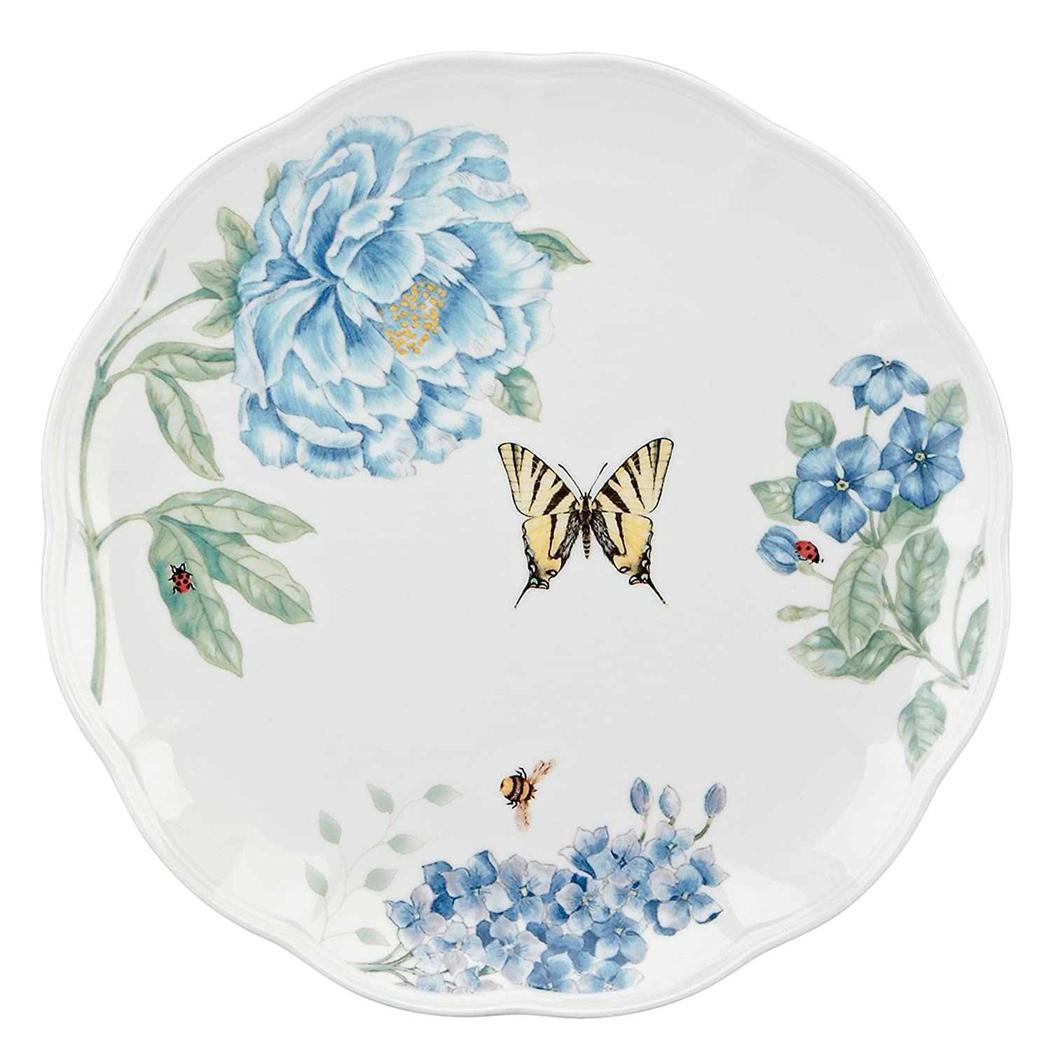 sc 1 st  Amazon.com & Amazon.com: Lenox Butterfly Meadow Blue Dinner Plate: Kitchen u0026 Dining