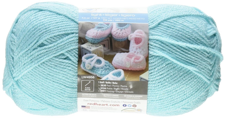 Amazon.com: RED HEART Baby Hugs Light Yarn, Pool: Arts, Crafts & Sewing