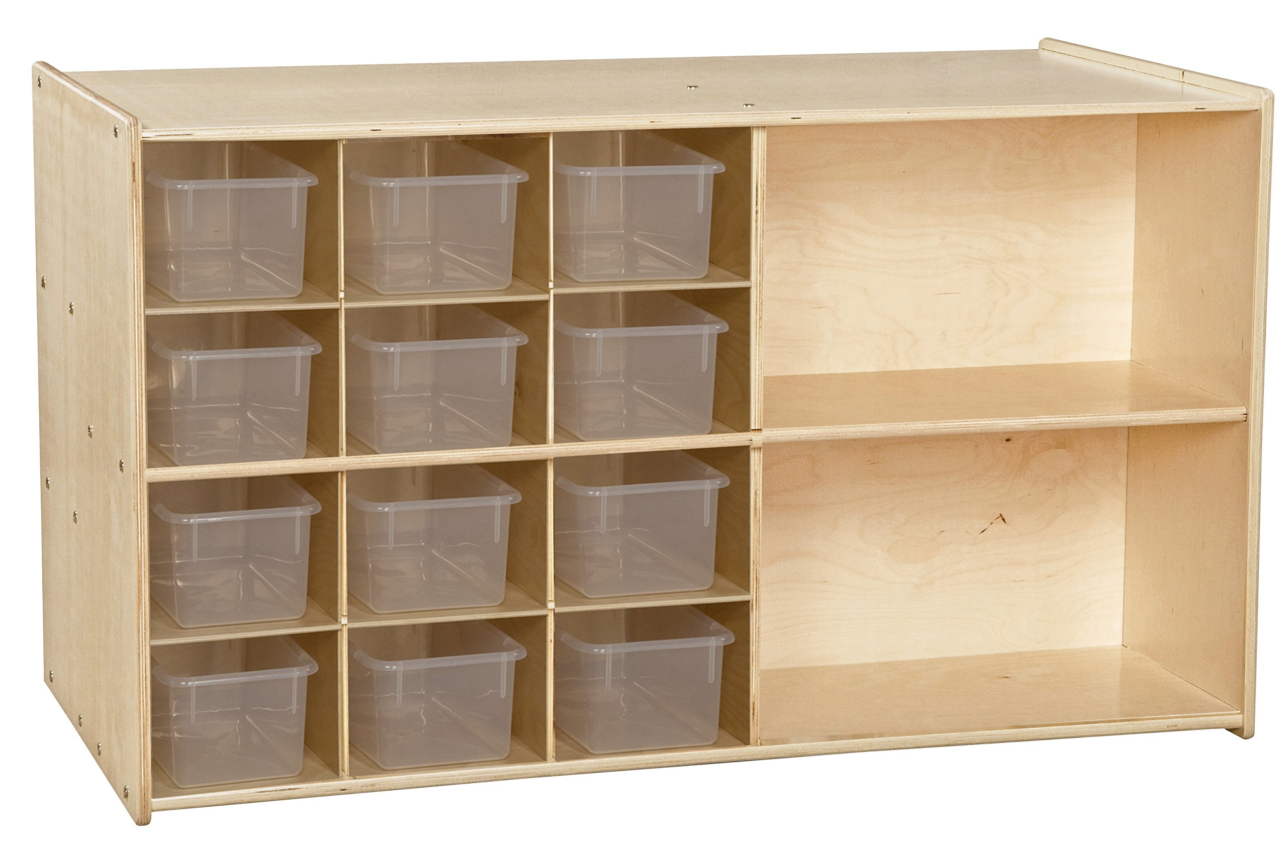 Contender C16601F Double Storage with 12 Translucent Trays, Assembled