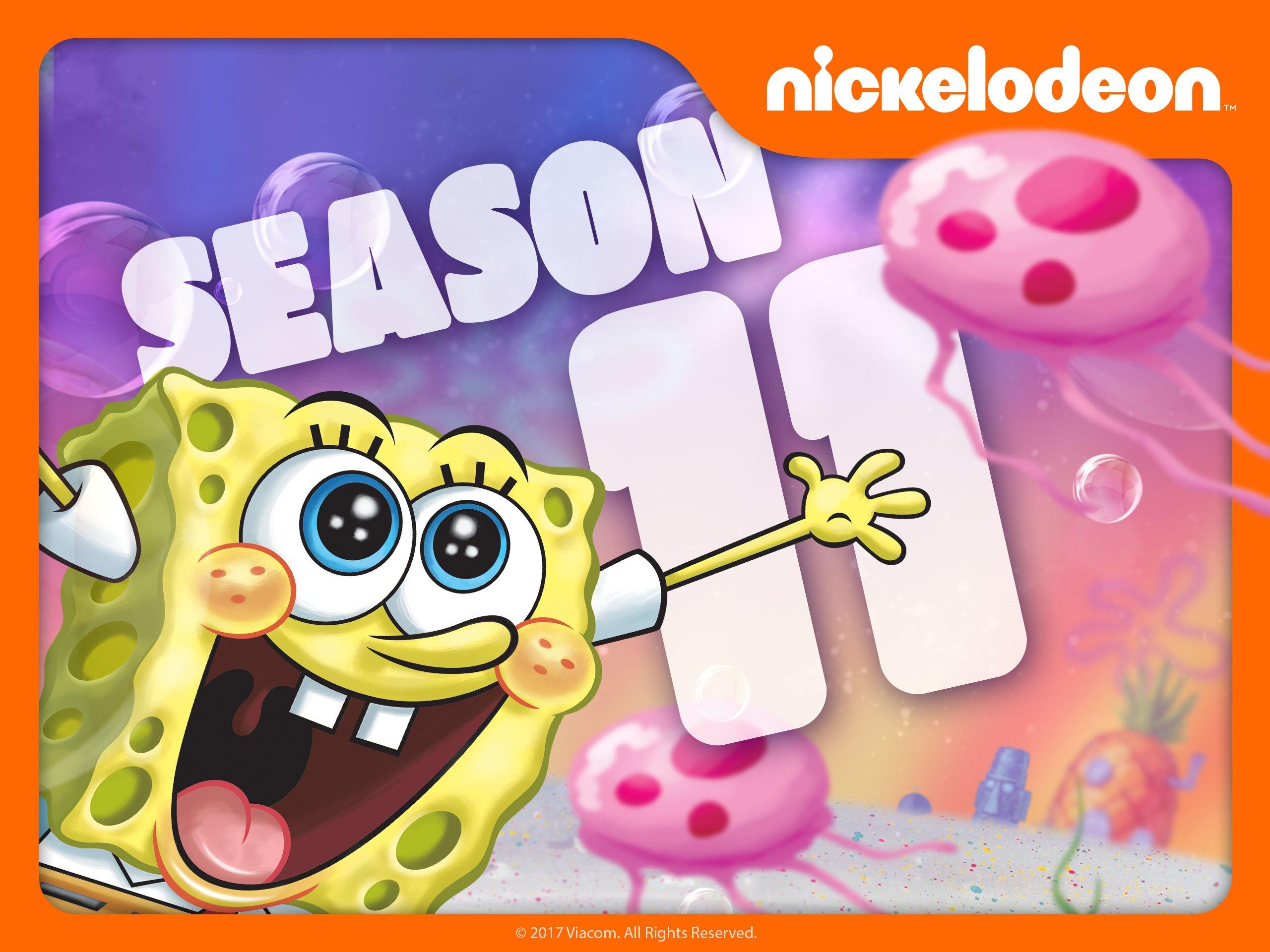 spongebob calls you