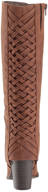 Fergalicious Women's Tootsie Knee High Boot B06XSX3BJH 10 B(M) US|Cognac