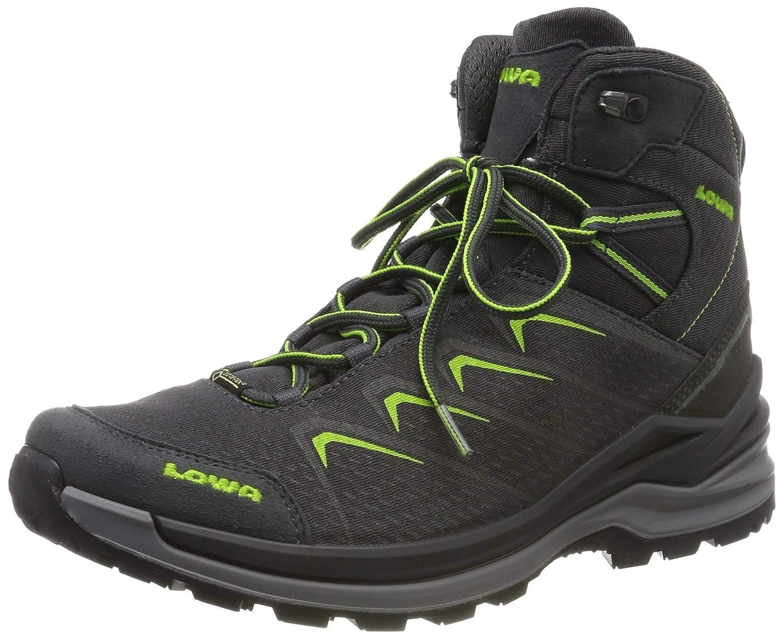 Lowa Ferrox Pro GTX Mid, Chaussures de Randonnée Hautes Homme Noir (Grafite Limone 9706) 46.5 EU