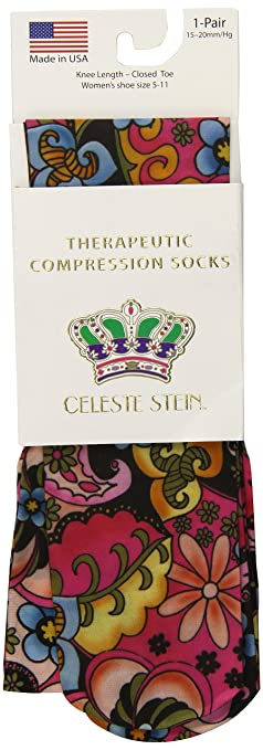 69d8ad033 Amazon.com  Celeste Stein Therapeutic Compression Socks