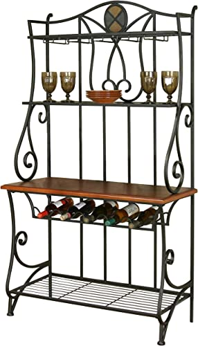 Sunset Trading Vail Dining Bakers Rack
