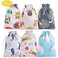 FORMIZON 18 Bolsas de Regalo DIY para Pascua