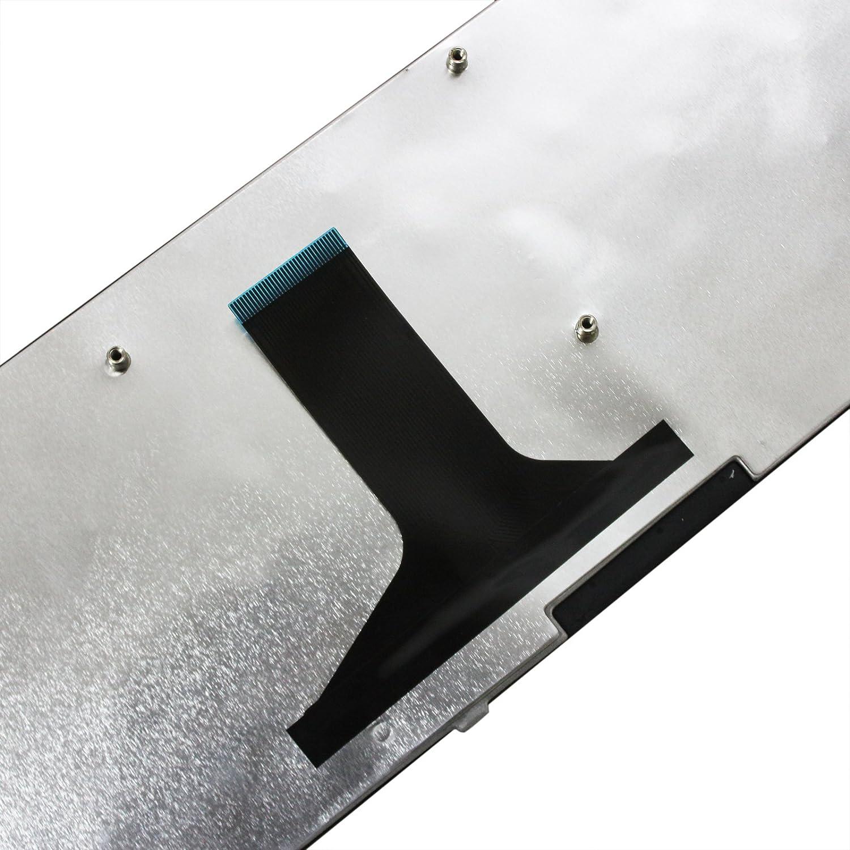 GinTai Laptop US Keyboard with Frame Replacement for Toshiba Satellite A665-S6081 A665-S6085 A665-S6086 A665-S6087 A665-S6088 US Stock