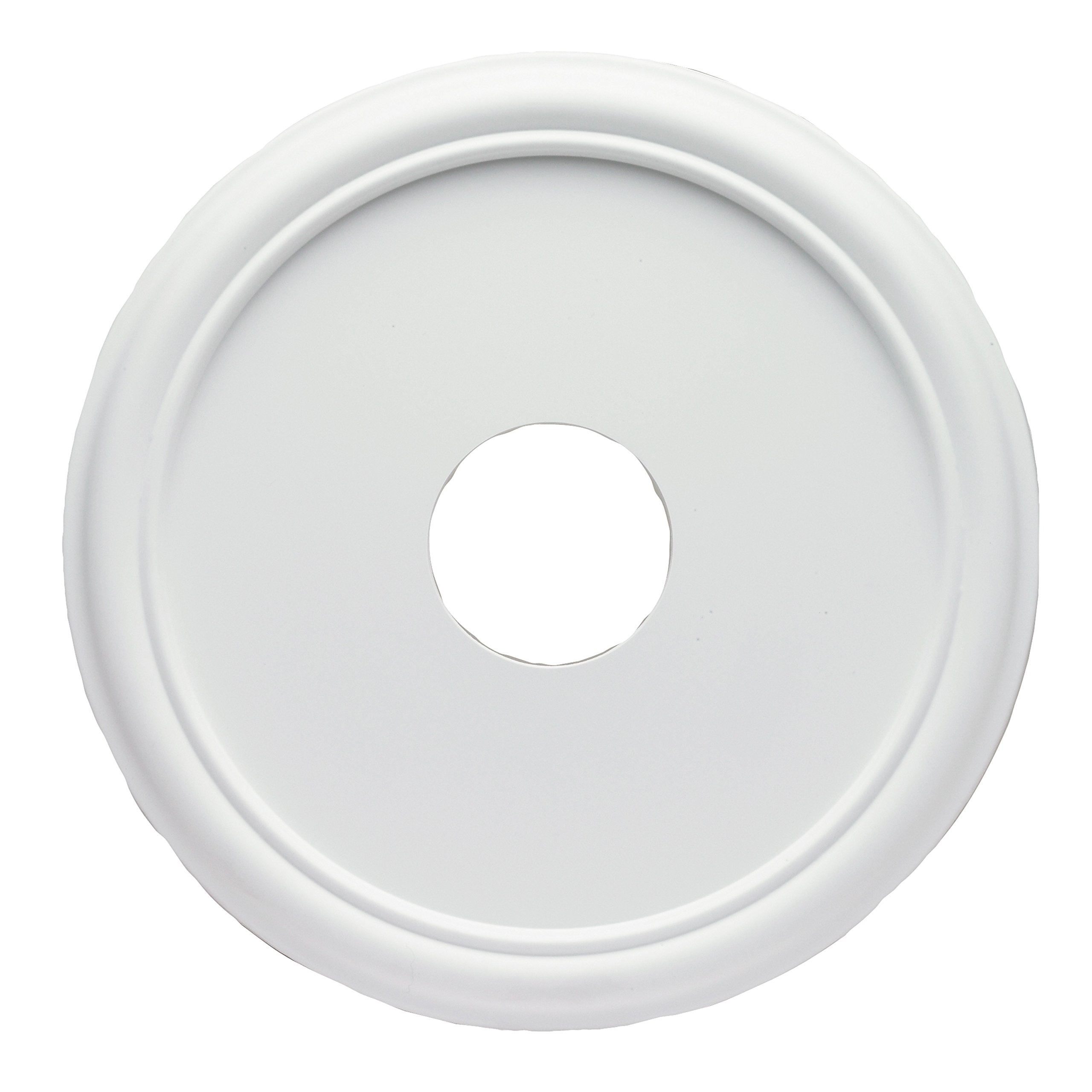 Westinghouse 7773200 16-Inch Smooth White Finish Ceiling Medallion by Westinghouse Lighting (Image #1)