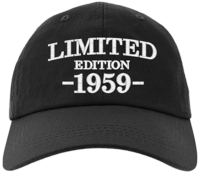 Cap 1959 60th Birthday Gifts Limited Edition All Original Parts Baseball Hat