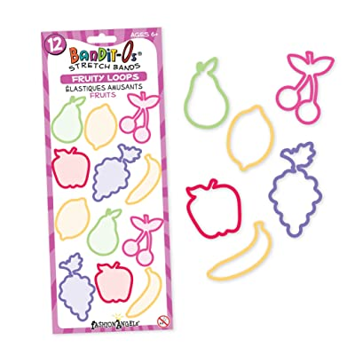 """Fruity Loops"""" Stretch Bands - Bandit-Os Series 1: Toys & Games,"""